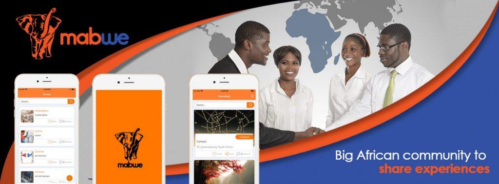 Social media site Africa