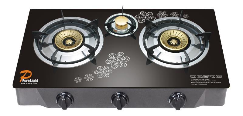 3B glass cooker pure light