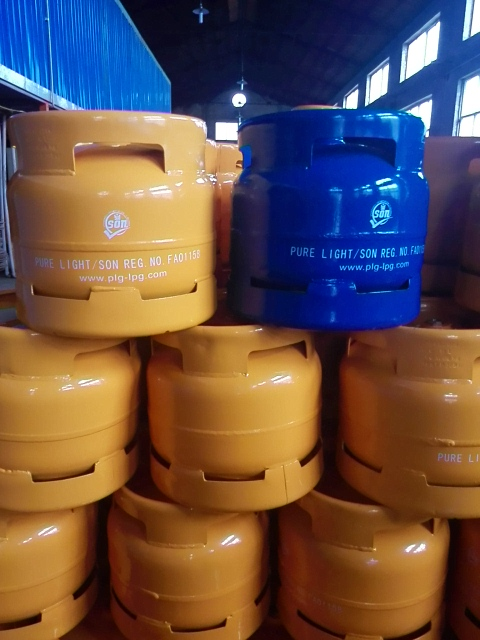 Gas Steel Cylinders and Gas in Nigeria
