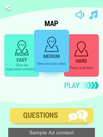 Nigeria Map Puzzle game
