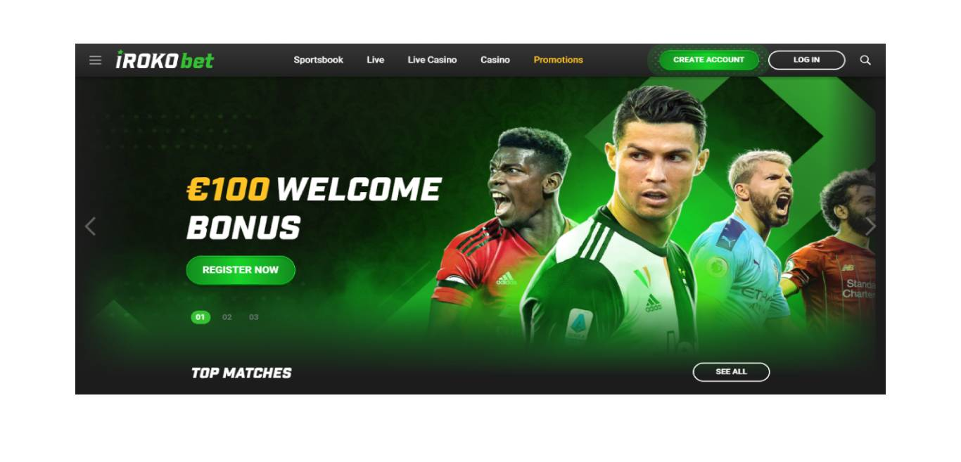 Best Sports Betting Site in Ghana – Irokobet