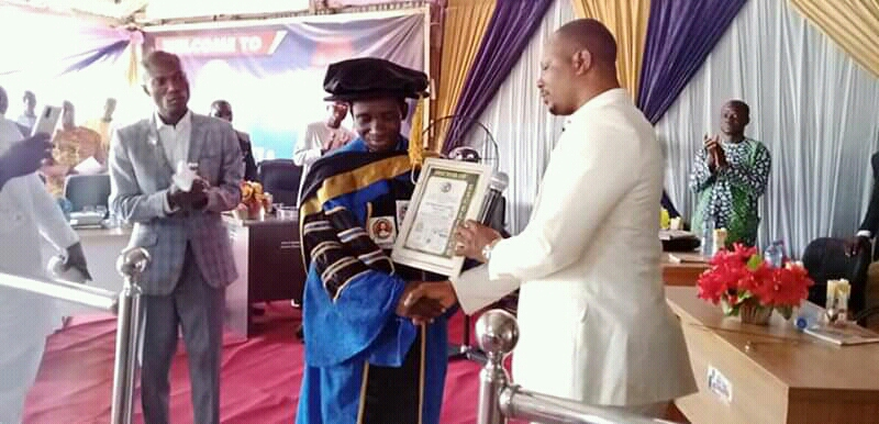Lokoja Prophet honoured with Honorary Doctor of Excellence Award